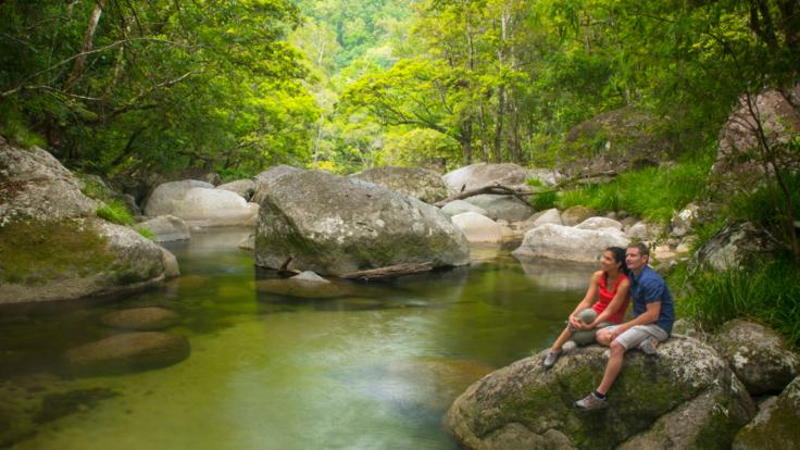 Pristine Water At Mossman Gorge
