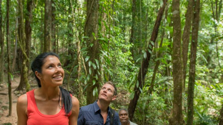 Learn about the food and culture from your guide in the Daintree
