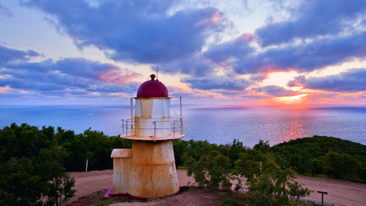 Historical landmarks in Cooktown - the Cooktown Lighthouse