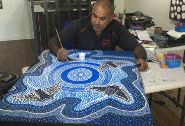 Learn Aboriginal painting techniques from the best