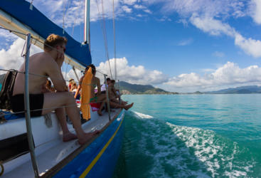 Great Value 1 day sailing tour in the Whitsundays