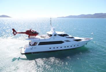 Private charter superyacht from Port Douglas