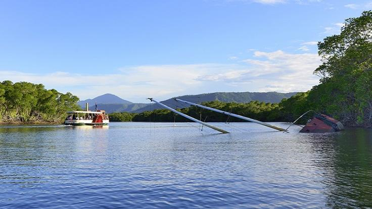 Take a 2 hour private river cruise in Port Douglas