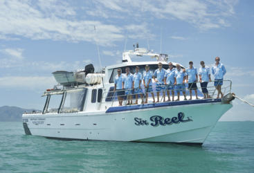 Travel on your 58 ft purpose built vessel for the best 24 hours of reef fishing from Townsville.