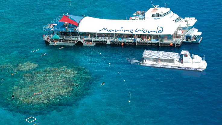 Great Barrier Reef tour from Cairns - Moore Reef platform