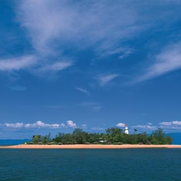 Low Isles on the Great Barrier Reef in Port Douglas