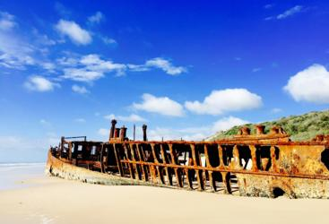 Visit The Maheno Shipwreck on Fraser Island