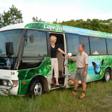 Comfortable coach transfers