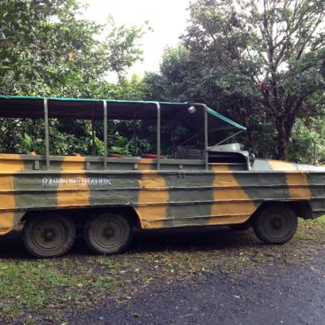 Kuranda Tour Rainforestation - Amphibious Army Duck tour
