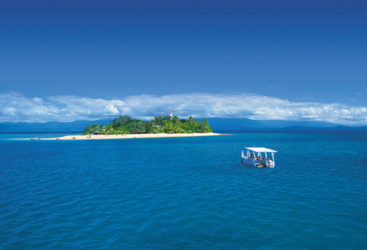 Port Douglas Reef Trip - Low Isles -Low Isles glass bottom boat tour