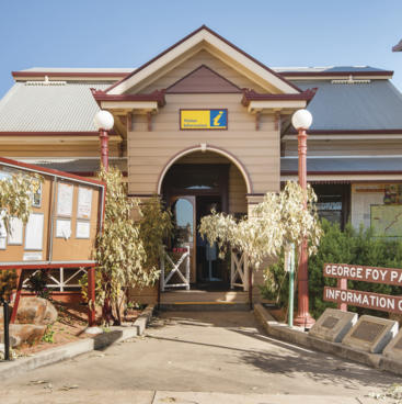 George Fox Park and Information Centre, Charters Towers