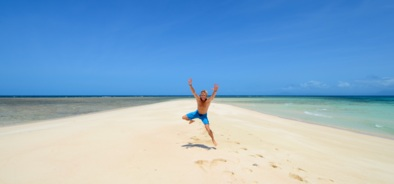 Fun on the cay, Tropical North Queensland